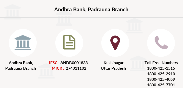 Andhra-bank Padrauna branch
