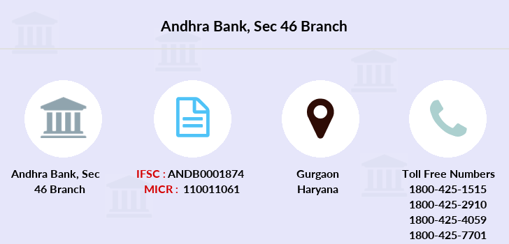 Andhra-bank Sec-46 branch