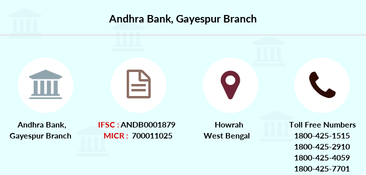 Andhra-bank Gayespur branch