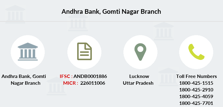 Andhra-bank Gomti-nagar branch