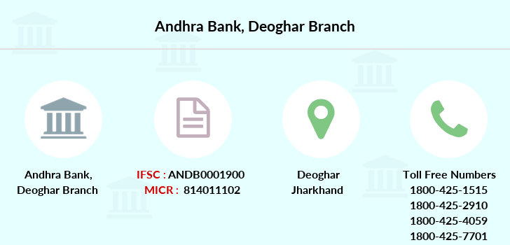 Andhra-bank Deoghar branch