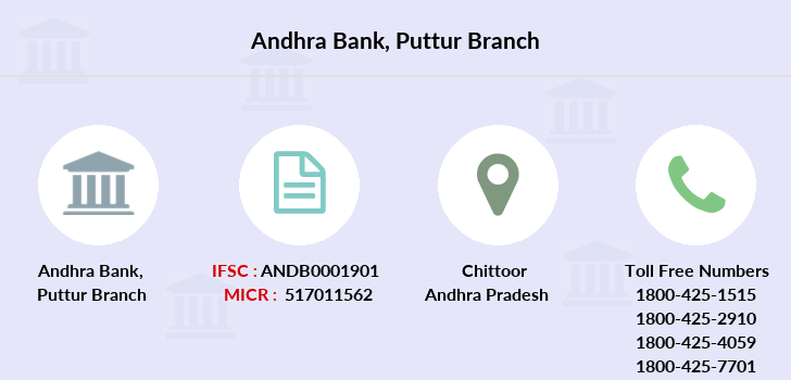 Andhra-bank Puttur branch