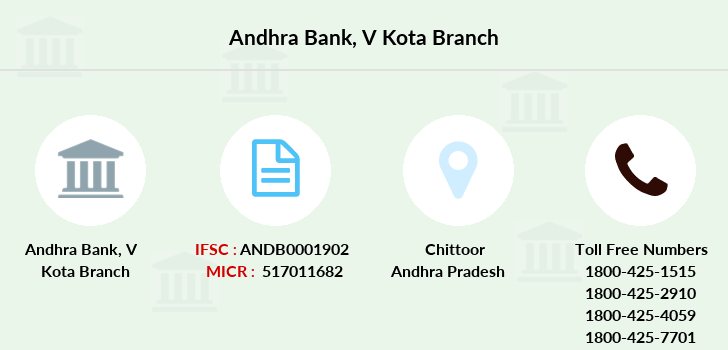 Andhra-bank V-kota branch
