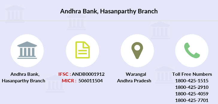 Andhra-bank Hasanparthy branch