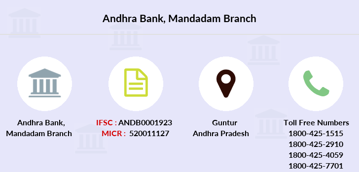 Andhra-bank Mandadam branch