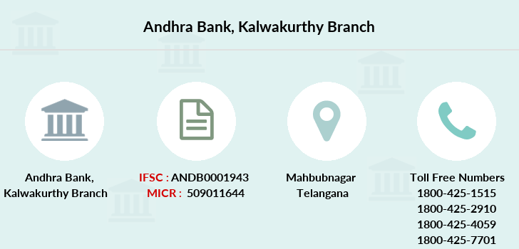 Andhra-bank Kalwakurthy branch