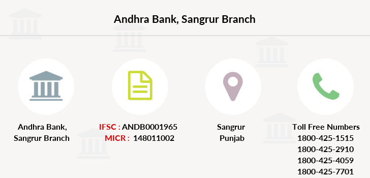 Andhra-bank Sangrur branch