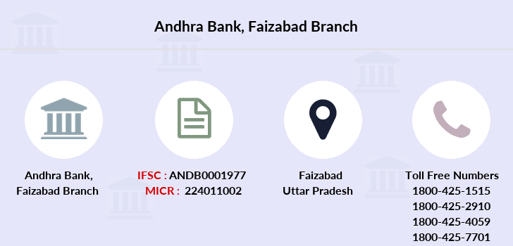 Andhra-bank Faizabad branch
