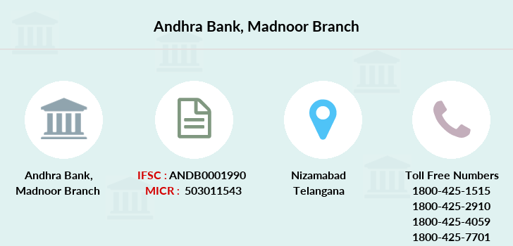 Andhra-bank Madnoor branch