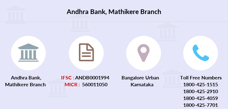 Andhra-bank Mathikere branch