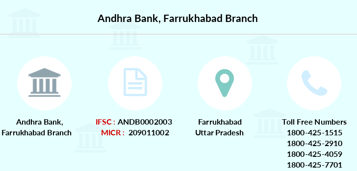 Andhra-bank Farrukhabad branch