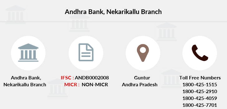 Andhra-bank Nekarikallu branch