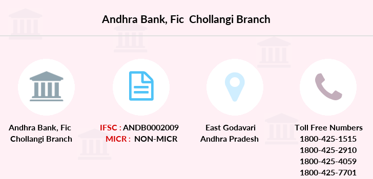 Andhra-bank Fic-chollangi branch