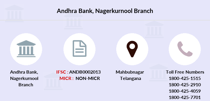 Andhra-bank Nagerkurnool branch