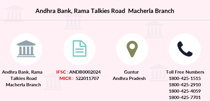 Andhra-bank Rama-talkies-road-macherla branch