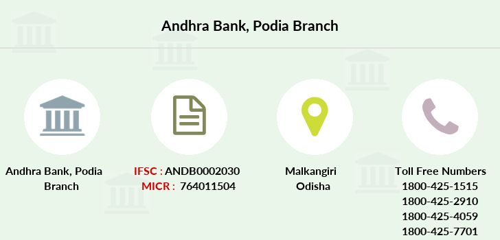Andhra-bank Podia branch