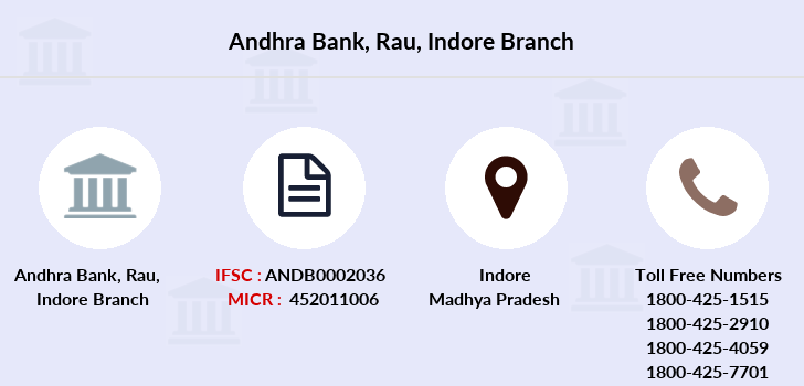 Andhra-bank Rau-indore branch