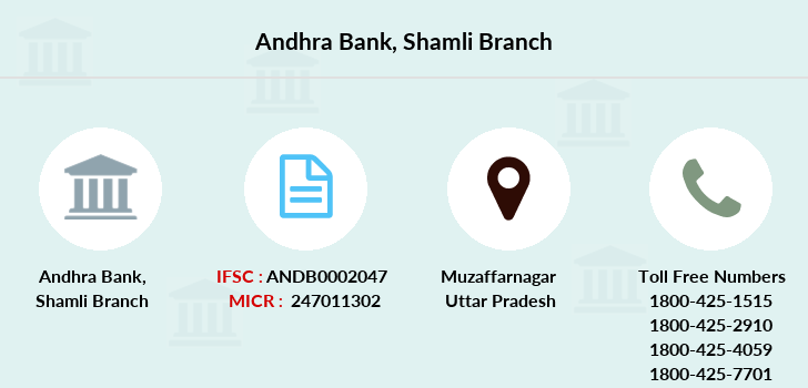 Andhra-bank Shamli branch