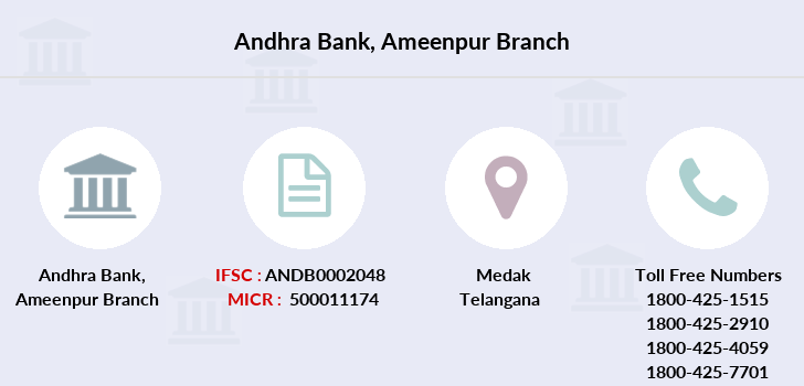 Andhra-bank Ameenpur branch