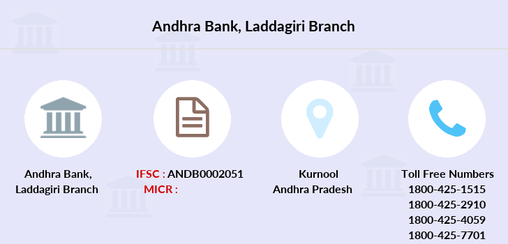 Andhra-bank Laddagiri branch