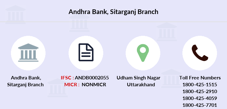 Andhra-bank Sitarganj branch