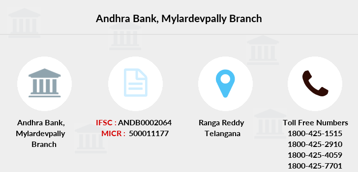 Andhra-bank Mylardevpally branch