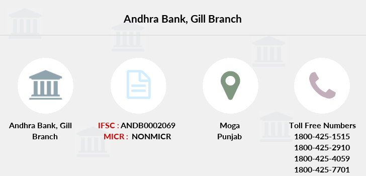 Andhra-bank Gill branch