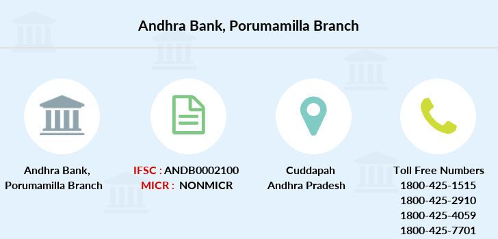 Andhra-bank Porumamilla branch