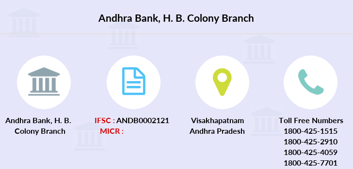 Andhra-bank H-b-colony branch
