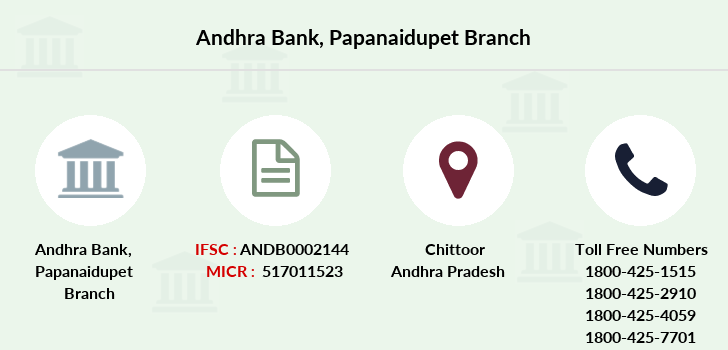 Andhra-bank Papanaidupet branch