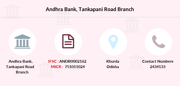 Andhra-bank Tankapani-road branch