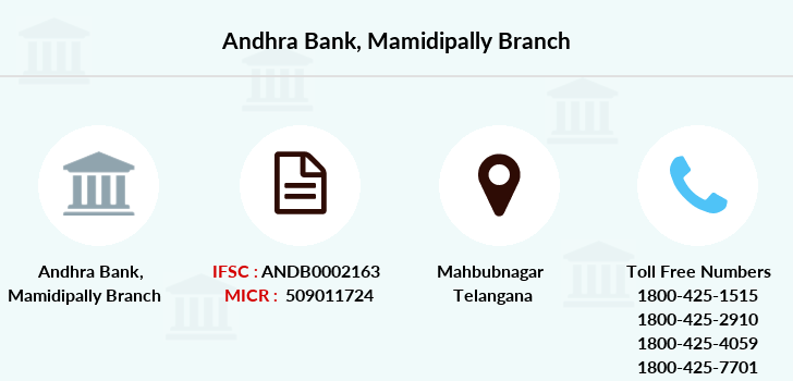 Andhra-bank Mamidipally branch