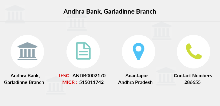 Andhra-bank Garladinne branch
