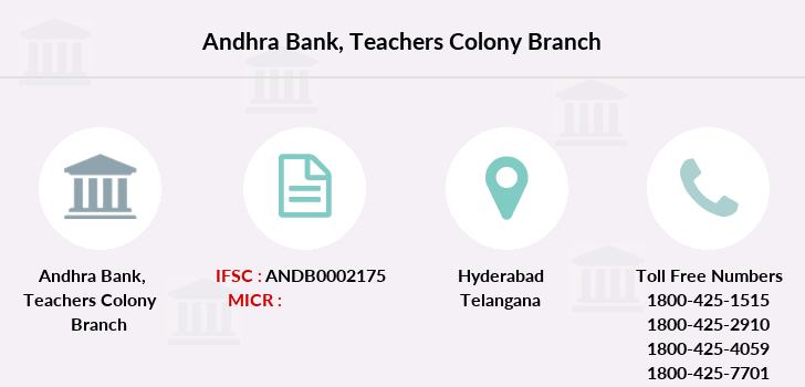Andhra-bank Teachers-colony branch