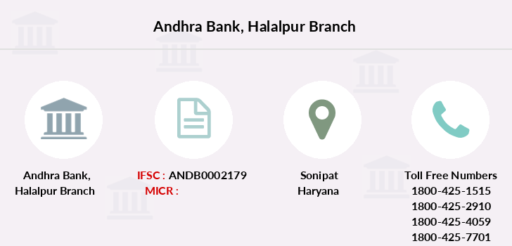 Andhra-bank Halalpur branch