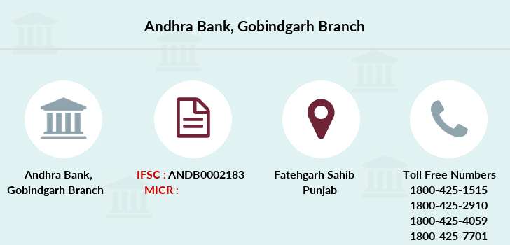 Andhra-bank Gobindgarh branch