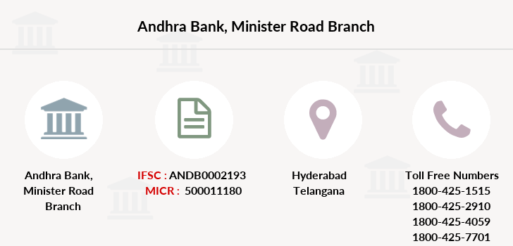 Andhra-bank Minister-road branch