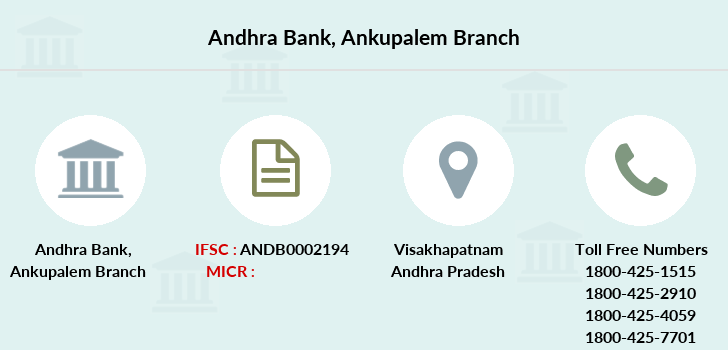 Andhra-bank Ankupalem branch