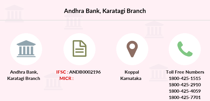 Andhra-bank Karatagi branch