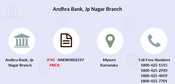 Andhra-bank Jp-nagar branch