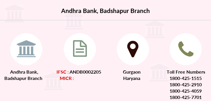 Andhra-bank Badshapur branch