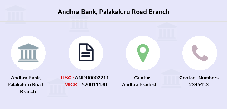 Andhra-bank Palakaluru-road branch