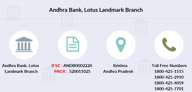 Andhra-bank Lotus-landmark branch