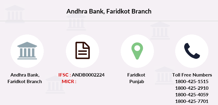 Andhra-bank Faridkot branch