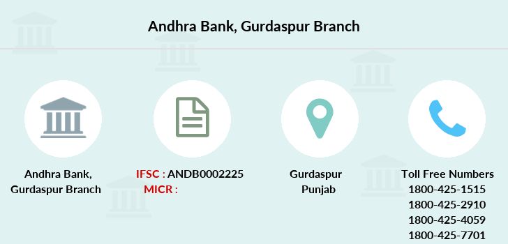 Andhra-bank Gurdaspur branch
