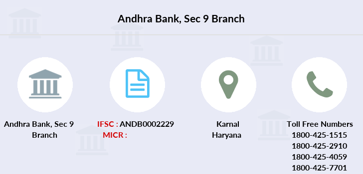 Andhra-bank Sec-9 branch