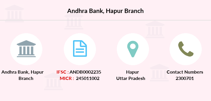 Andhra-bank Hapur branch
