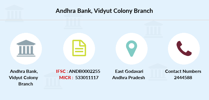Andhra-bank Vidyut-colony branch