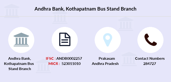 Andhra-bank Kothapatnam-bus-stand branch