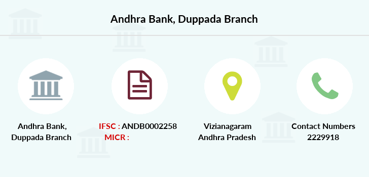 Andhra-bank Duppada branch